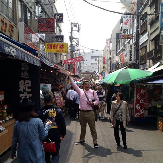 Tsukiji shopping street