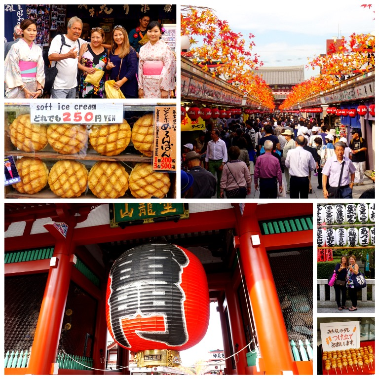 Asakusa Sensoji Temple and Nakamise shopping street