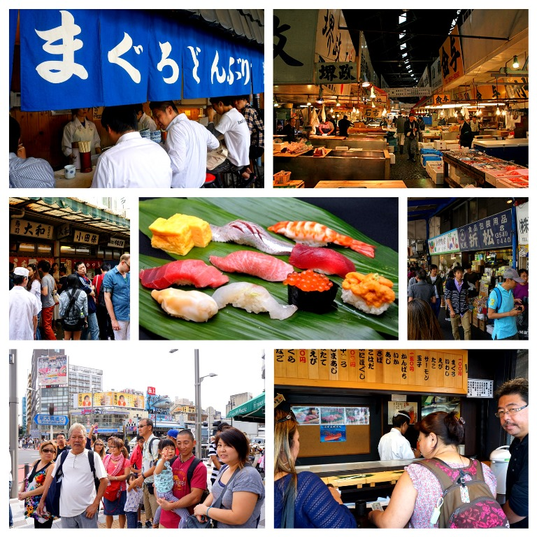 Eat the best sushi at Tsukiji Fish Market