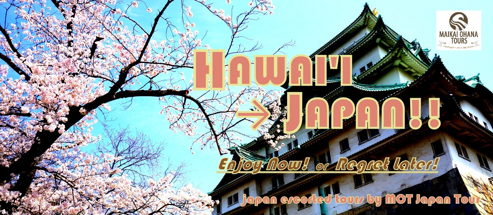 Hawaii Japan escorted tours