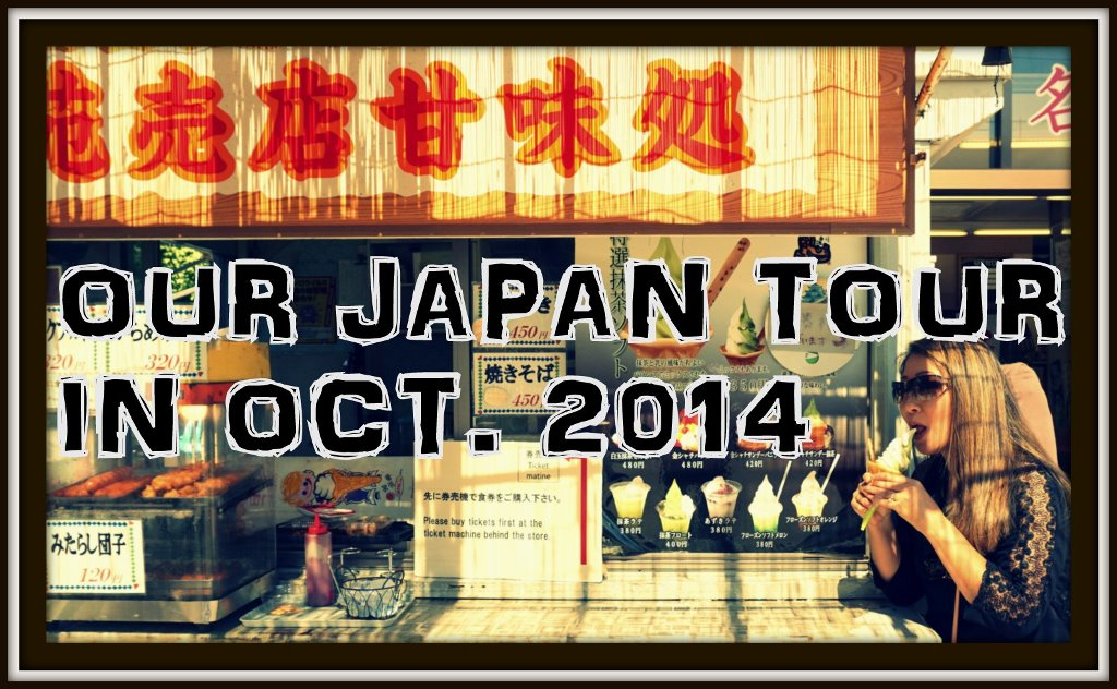 Our Japan tour BLOG coming soon!