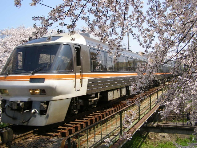 Limited express train ride from Toyama to Takayama