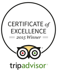 CERTIFICATE OF EXCELLENCE WINNER 2015
