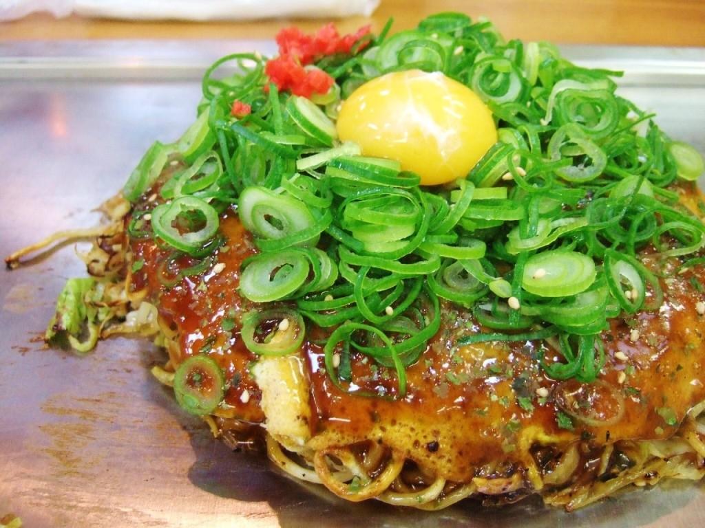 Hiroshima-style Okonomiyaki!
