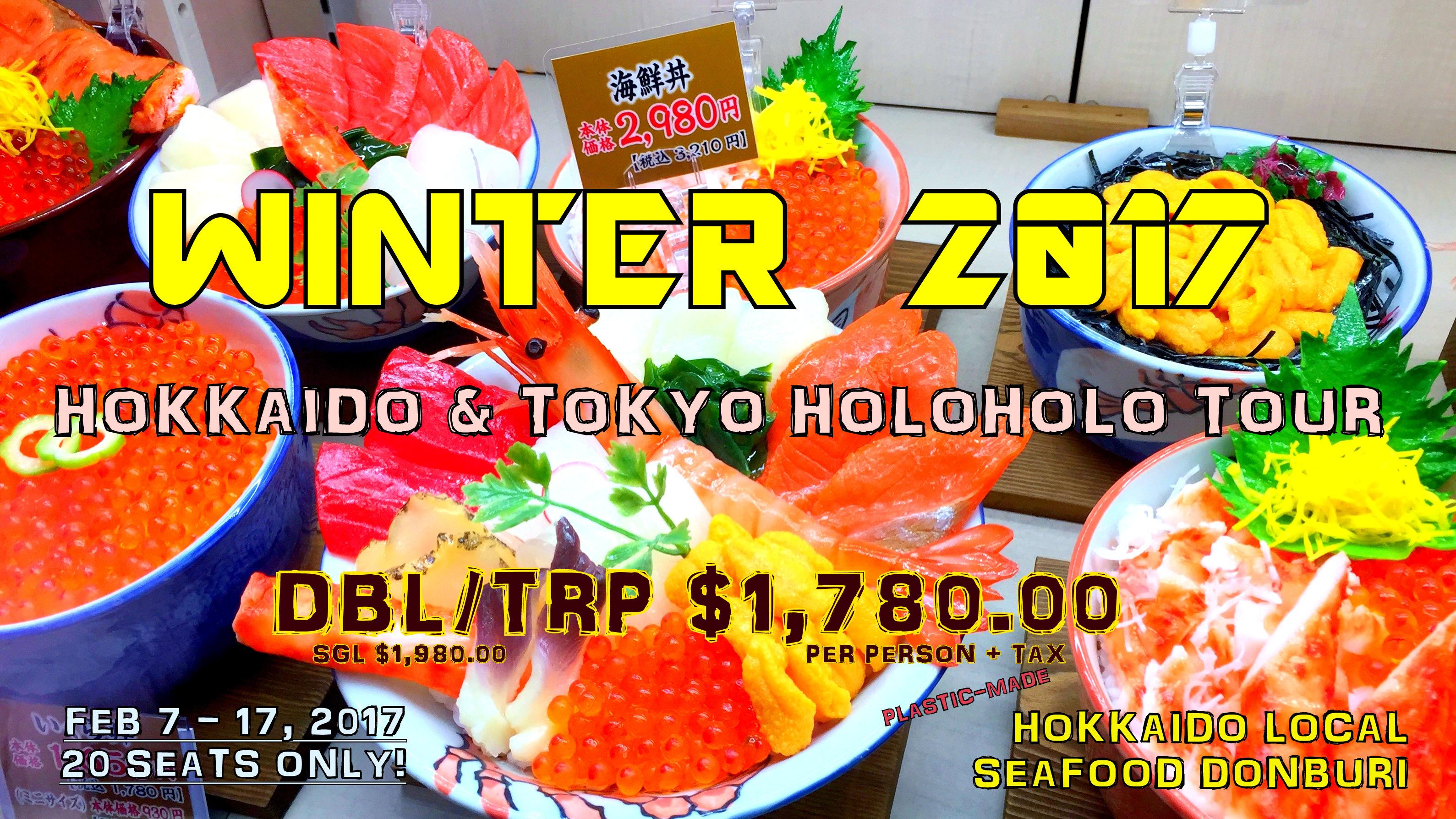 Winter 2017 - Sapporo Snow Festival & Asahikawa Winter Festival in Hokkaido & Tokyo Holoholo!!